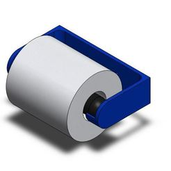 Download free STL file Toilet paper roll holder • 3D printer object, JPool