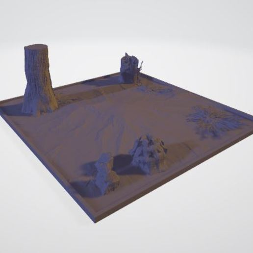 Download free STL file Forest diorama • 3D printing template, JPool
