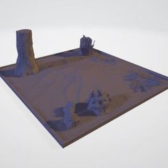 diorama_completo.JPG Download free STL file Forest diorama • 3D printing template, JPool