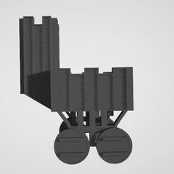 Download free 3D printer templates Warhammer combat trolley, JPool