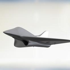 Untitled.JPG Download STL file Falcon Jet • 3D printable object, Indraneel