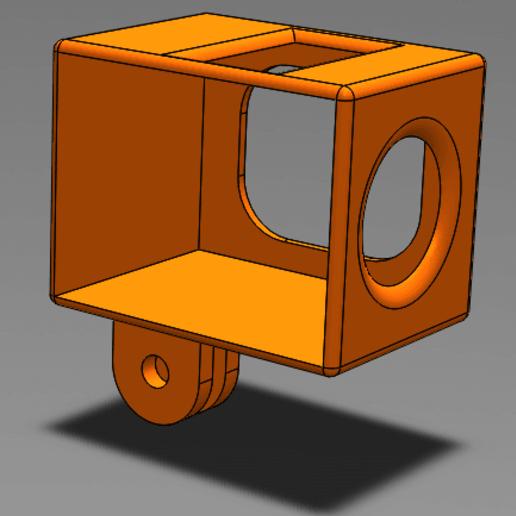 case.png Télécharger fichier STL gratuit Case hawkeye Firefly 2 mount • Modèle pour impression 3D, weaselstar