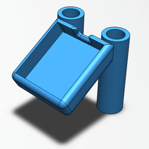 support_gps_long.png Download free STL file Support GPS GEPRC MARK2 • 3D printable template, weaselstar