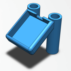 support_gps_long.png Télécharger fichier STL gratuit Support GPS GEPRC MARK2 • Design pour imprimante 3D, weaselstar