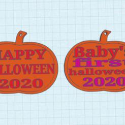 Screenshot 2020-10-10 233633.png Télécharger fichier STL décorations d'Halloween en forme de citrouille • Objet pour imprimante 3D, izombie16