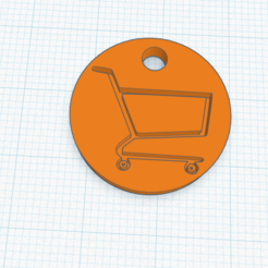 Annotation 2020-05-16 130237.png Download STL file shopping trolley coin • 3D print model, izombie16