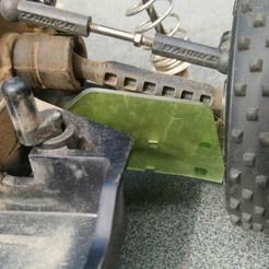 Download STL Tamiya TT02B Mud flaps reat axle, Meubie