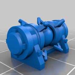HiTech_3.png Download free STL file Diecast High Tech Engines and Weapons • 3D printer design, Meubie