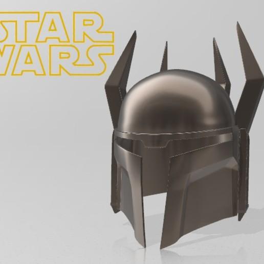 Download 3D model Gar Saxon Helmet - Mandalorian Clone Wars Season 7 - Star Wars Cosplay, propsandcosplay
