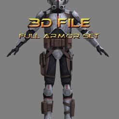 Download 3D printer files Star Wars Cosplay - Tech Armor - Bad Batch, propsandcosplay