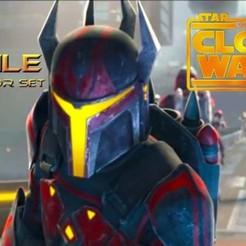 Descargar archivos STL Gar Saxon Armor set - Mandalorian Clone Wars Temporada 7 - Star Wars Cosplay, propsandcosplay