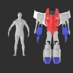 Descargar diseños 3D Armadura de Cosplay - Transformers - Starscream - 7 pies de altura, propsandcosplay