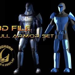 Télécharger fichier 3D Cosplay Armor - Neo Crusader Mandalorian - Star Wars - KOTOR, propsandcosplay