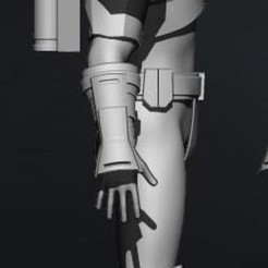 Télécharger modèle 3D Cosplay Star Wars - Armure Mandalorienne - The Old Republic, propsandcosplay