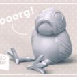 Télécharger fichier STL gratuit Porg Seudo, seudodesign