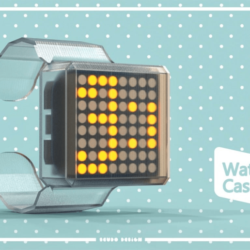 Relo.png Download free STL file Timesquare Watch Remix • 3D print model, seudodesign