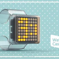 Télécharger fichier STL gratuit Remix de Timesquare Watch • Design pour imprimante 3D, seudodesign