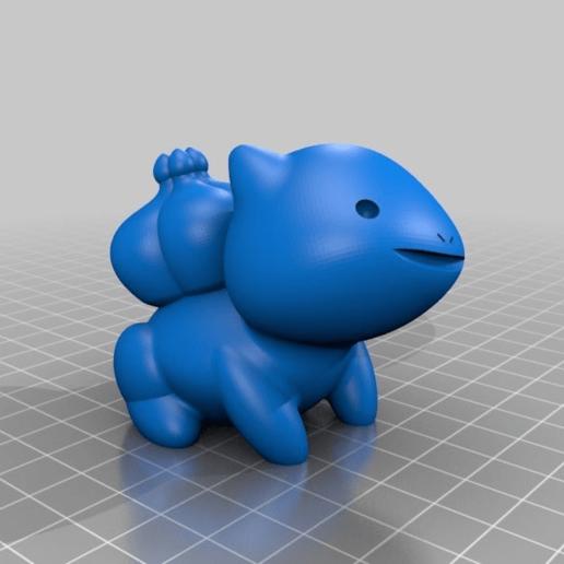 a6bf6c328c55d001411e68edbf15c063.png Download free STL file Bulbasaur Seudo • 3D printable template, seudodesign