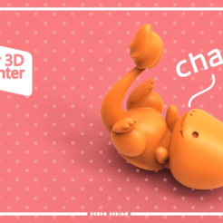 Download free STL file Charmander Seudo • 3D printing object, seudodesign