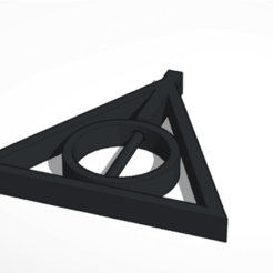 Screenshot 2020-04-24 at 10.06.26.png Download STL file Deathly Hallows Rotating Pendal • 3D printing object, pabloproaso1