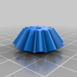 Bevel_gear_m2x12.png Download free STL file party parrot automata • 3D printable design, melonshu