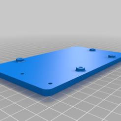 SKR_Mini_E3_Mount.png Download free STL file SKR Mini E3 Bracket for Wanhao Duplicator i3 / Monoprice Maker Select Plus • 3D printable design, TumbleweedLabs