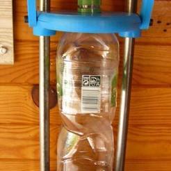 P002.JPG Télécharger fichier STL gratuit Compacteur de bouteilles et de canettes • Objet pour imprimante 3D, Foxeddy