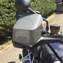 IMG_0950.JPG Télécharger fichier STL BMW R1200GS Proteges mains spécial mauvais temps • Objet pour imprimante 3D, Foxeddy