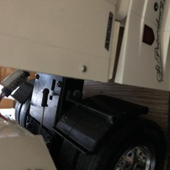 Download free STL file mudguard truck tamiya, nicky31320