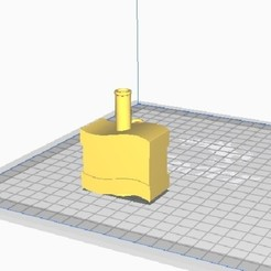 BANDERA.jpg Download STL file FLAGPOLE • 3D printer design, christian_marin1991