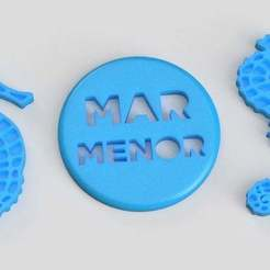 Download free 3D printer files SOS Mar Menor, imakina