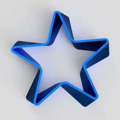 Ribbon_star.jpg Télécharger fichier STL gratuit Étoile de ruban • Plan imprimable en 3D, imakina