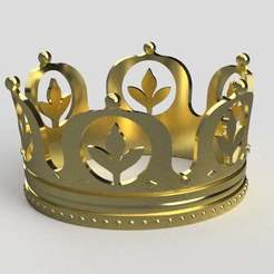 Crown.jpg Download free STL file Crown • 3D printer model, imakina