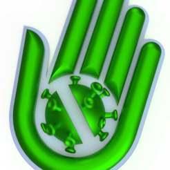 covidinmunity.jpg Download free STL file Covid inmunity symbol • 3D print model, imakina