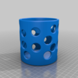 Download free 3D printing models Dotted holder, imakina