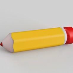 pencil complete.jpg Download STL file Pencil case improved • Design to 3D print, imakina