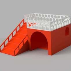 Turtle_loft.jpg Télécharger fichier STL gratuit Maison des tortues ou des animaux domestiques • Objet à imprimer en 3D, imakina