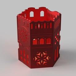 Descargar diseños 3D gratis Archictectural pencil holder, imakina