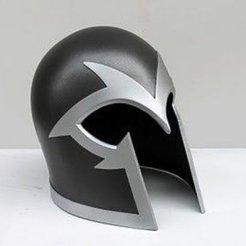 l39859-magneto-helmet-93349.jpg Download free STL file Magneto cosplay • 3D print template, imbackleesin