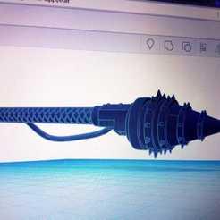 power drill.jpeg Download free STL file Power Drill Imperial Knight 40k • 3D print object, nilcfabregas