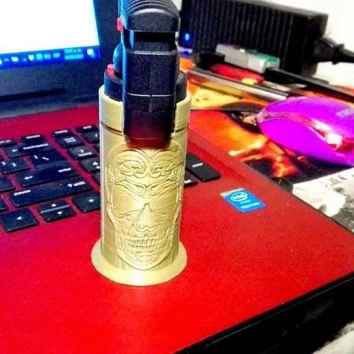 MiniTorchSheath2.jpg Download free STL file Mini torch sheath • 3D printing model, mbernalcu