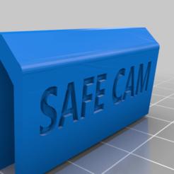 Download free 3D printer designs Safe web cam cover, mbernalcu