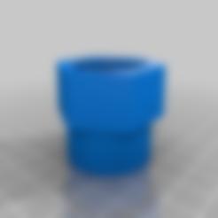Download free STL file Car pulverizer spray gun adapter. • 3D print template, mbernalcu