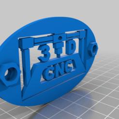 PlacaLogoCNC.png Download free STL file CNC Machine Plaque • 3D print design, mbernalcu