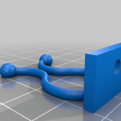 Z6_04_ABS_CableHolderSKT.png Download free STL file Temporary Cable Holder Ver.2. • Object to 3D print, mbernalcu