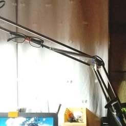 SoportesLampara.jpg Télécharger fichier STL gratuit Supports utiles pour les lampes de bureau • Objet à imprimer en 3D, mbernalcu