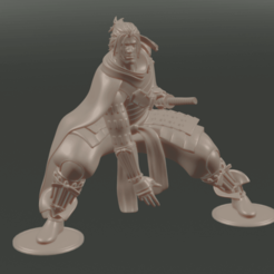 Viiliam_1.png Download free 3MF file Villiam From Nioh • Model to 3D print, Sennenor