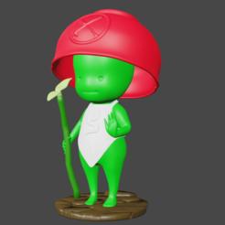 Download free OBJ file Kodama from Nioh • 3D printing design, Sennenor