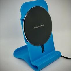 IMG_0557.jpg Télécharger fichier STL Support de chargeur sans fil • Design à imprimer en 3D, jianlema72