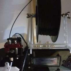 Descargar Modelos 3D para imprimir gratis Carrete portafilamentos, danzig483